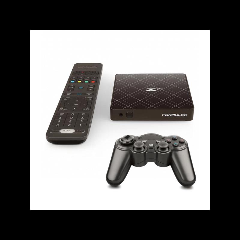 Pack  Formuler Z7+  mais GamePad Formuler F-360