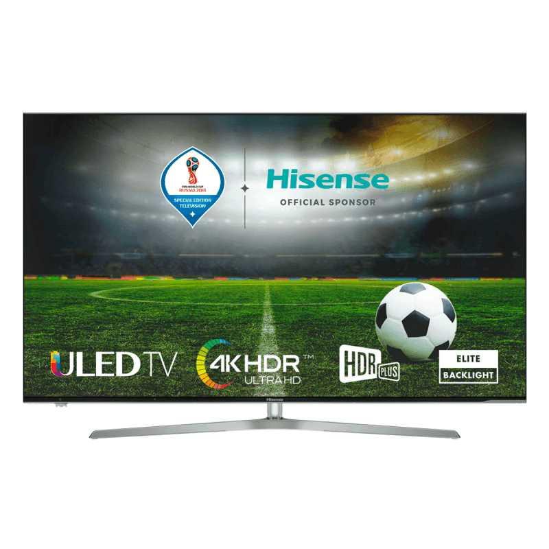 "SMART TV 55"" 4K ULED Wi-Fi Tuner SAT&Cabo/TDT Hisense"