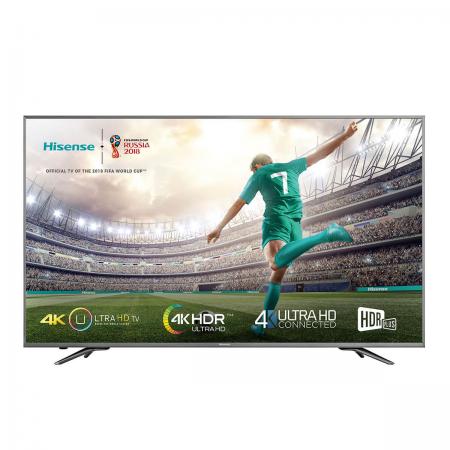 "Smart TV 55"" 4K ULED UHD Wi-Fi Tuner SAT&Cabo/TDT Hisense"