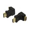 Adaptador HDMI M-H ângulo 90° LogiLink