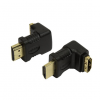 HDMI adapter M-H 90 ° angle LogiLink