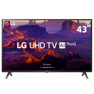 "Smart TV LCD LG 4K 43"""