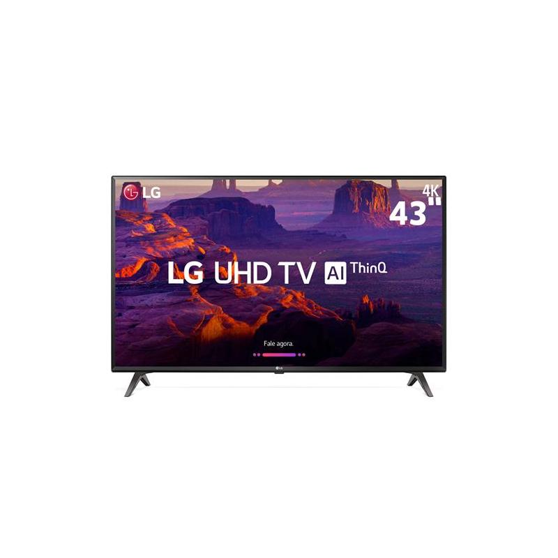 """TV LED 4K 43"""" SMART TV 4"""