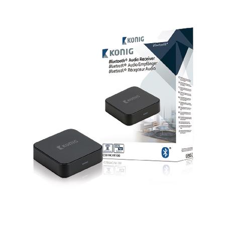 Receptor de áudio Bluetooth Konig