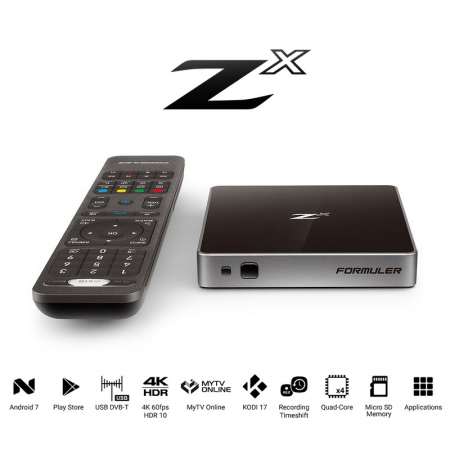 Formuler Zx 4k 1GB/8GB 5G