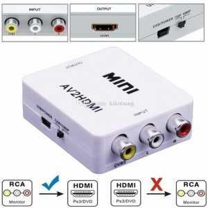 Conversor A / V para HDMI
