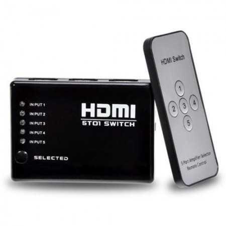 Switch HDMI 5X1