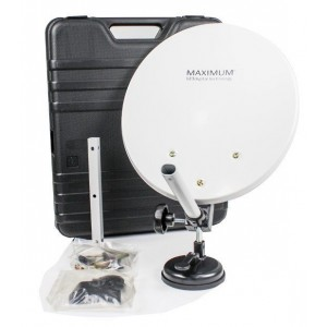 Portable Parabolic Antenna with Case