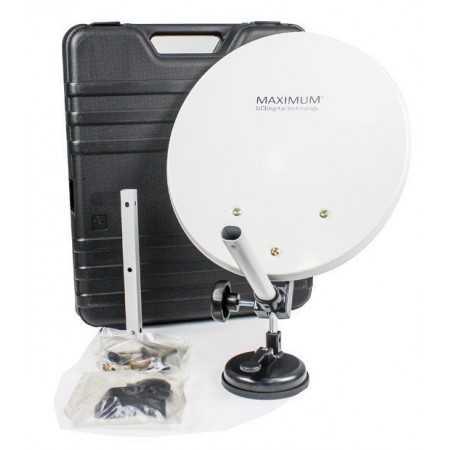 Portable Parabolic Antenna with Case