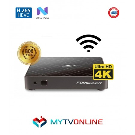 Formuler Z7+ 4K 2GB + 8GB Wi-Fi Android 7 Black