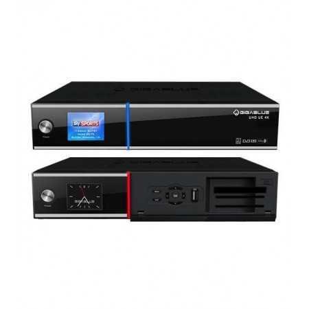 Gigablue UHD UE 4K Twin Tunner SAT
