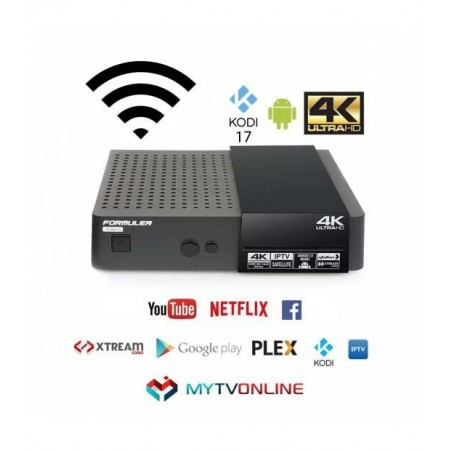 Formuler S Mini 4K Android 7 SAT & IPTV STB