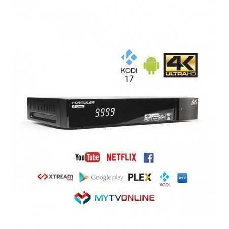 Formuler S Turbo 4K IPTV & SAT Common Interface