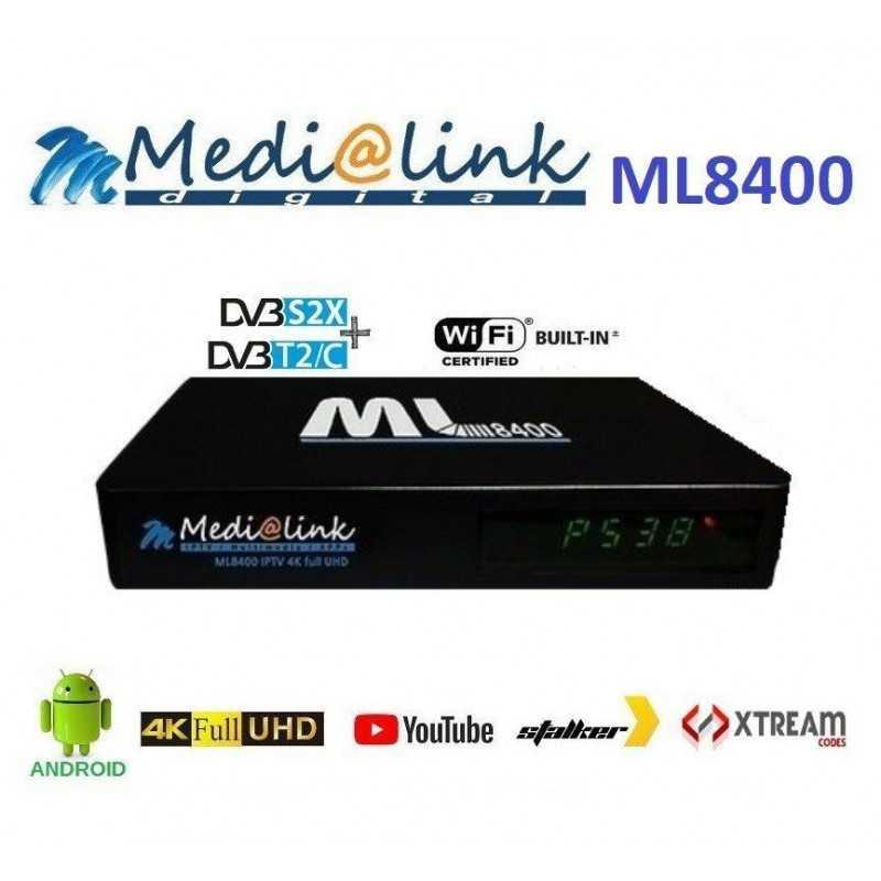 Medialink ML8400 Combo 4K