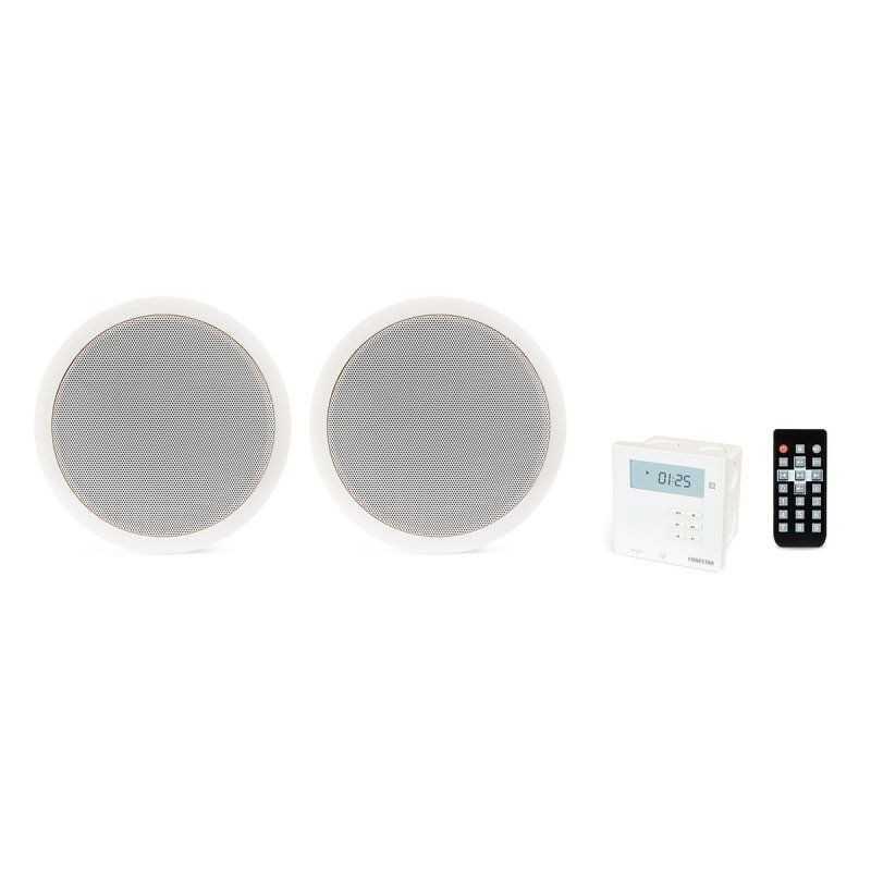 Kit Som Ambiente 2 x 10 W Bluetooth