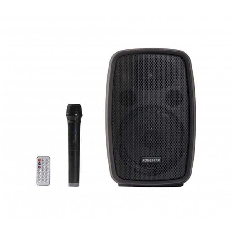 Amplificador FONESTAR AMPLY-T (100 W - Bluetooth - Karaoke)