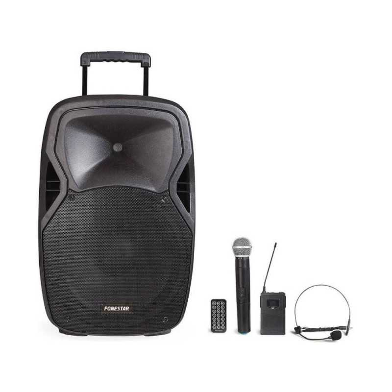 FONESTAR Malibu-215P- 200 Portable Amplifier