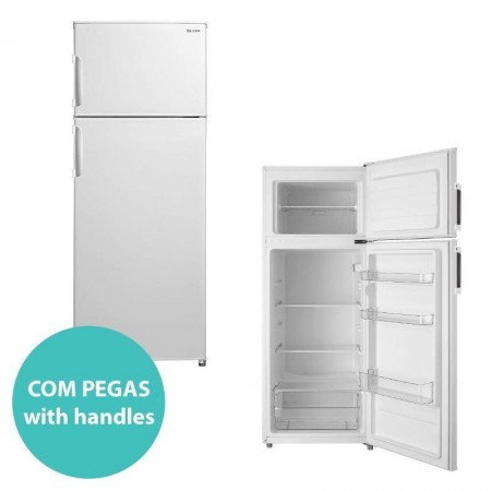 Fridge Silver 2 doors 220L