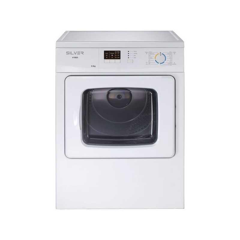 Máquina de Secar Roupa 8 Kg Silver