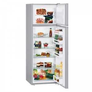 Refrigerator Silver - 2D 220L IPF220 L/S