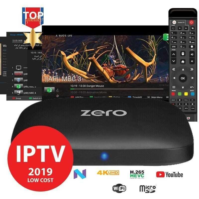 Amiko Zero - Android 4K - IPTV Box