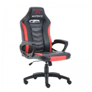 Gaming Invicuts Chair - Black & Red - Matrics