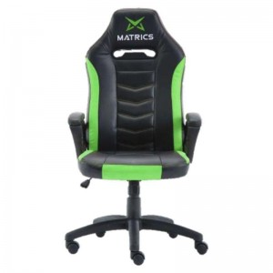 Gaming Invicuts Chair - Black and Green- Matric