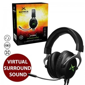 Pro Gaming Headset - Som 7.1 - Storm