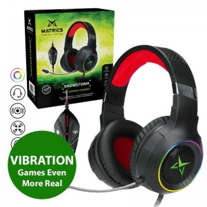 Pro Gaming Headset 7.1 - SnowStorm
