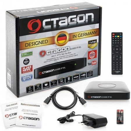 OCTAGON SX888 WL IPTV HEV
