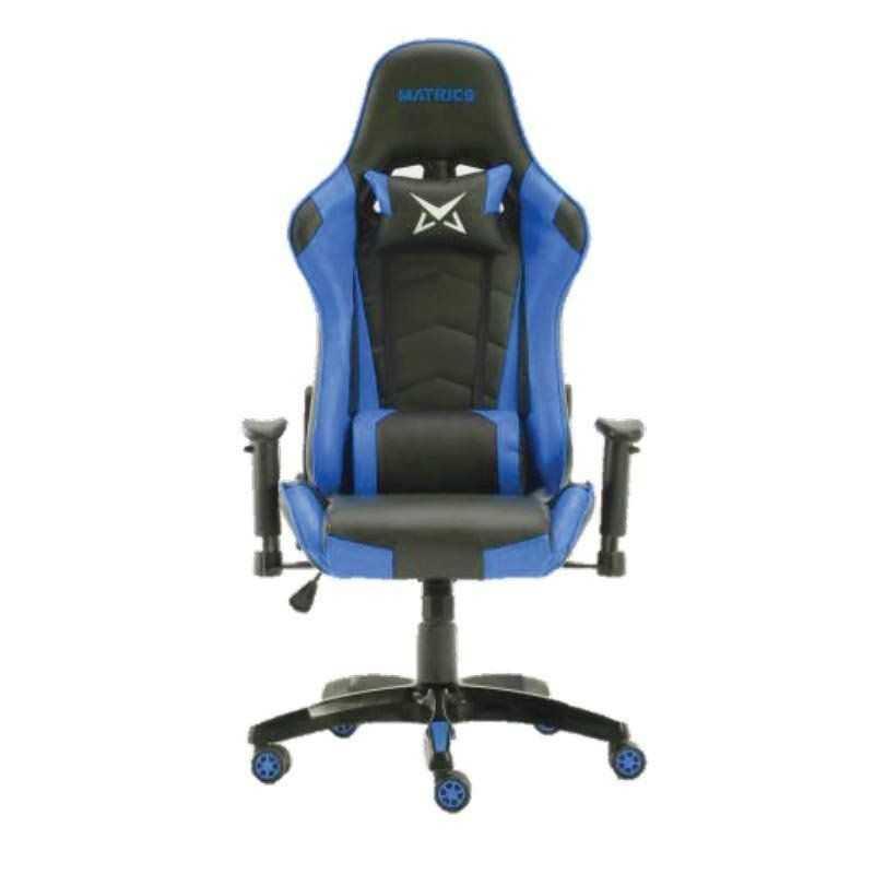 Osiris Pro Gaming Chair - Black and Blue - Matrics