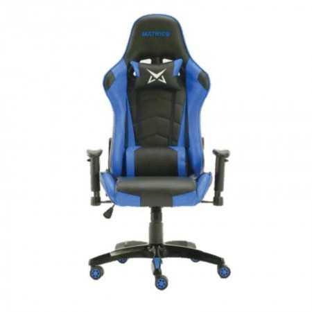 Cadeira Pro Gaming Osiris - Preto e Azul - Matrics