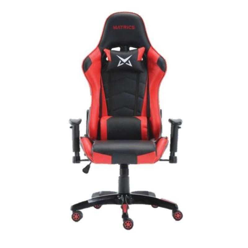 Cadeira Pro Gaming Osiris - Preto e Vermelho - Matrics