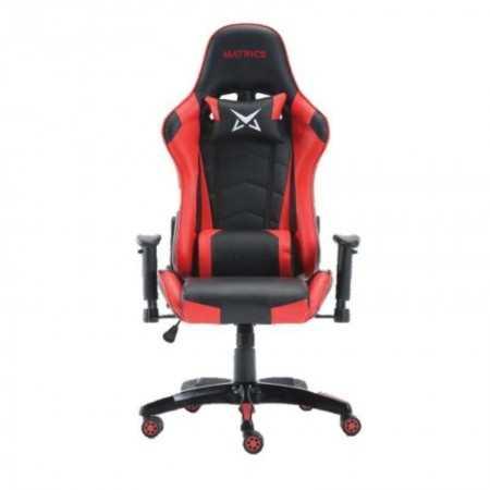 Osiris Pro Gaming Chair - Black and Red - Matrics