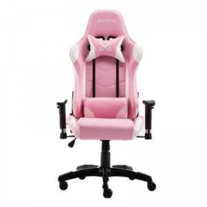Cadeira Pro Gaming Osiris - Rosa e Branco - Matrics