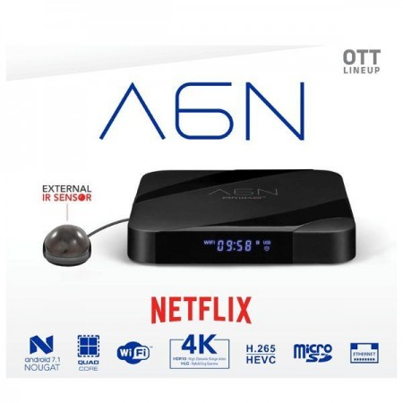 Amiko A6N - Android - OTT/TV Box