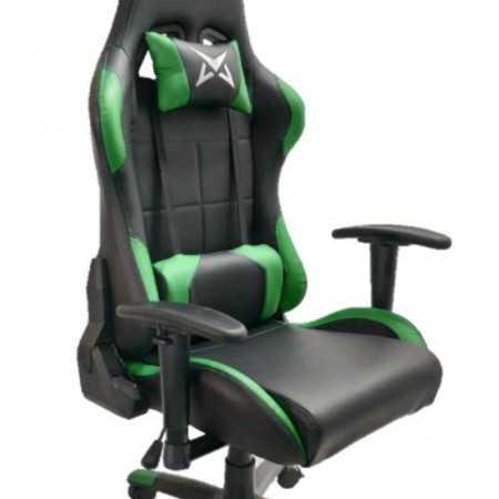 Cadeira Gaming Excalibur - Preto e Verde - Matrics