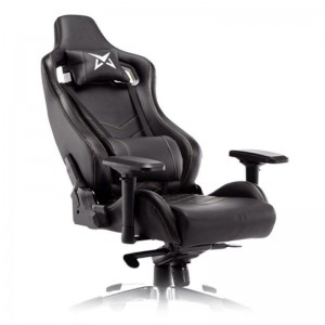 Throne Gaming Chair - Black and Gold Stitches - Matrics