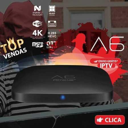 Amiko A6 4K IPTV OTT Andr