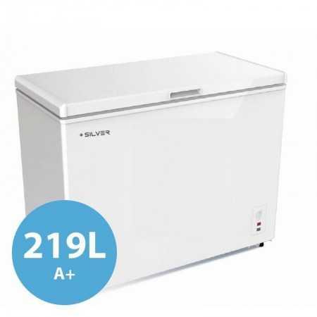 Arca Congeladora Silver - 219L - A+