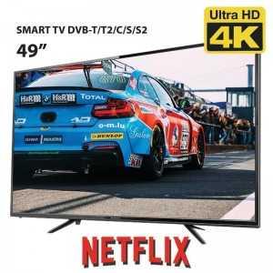 "SMART TV UHD 4K 49"""