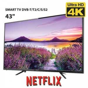 Smart TV Ultra HD 4K 43""