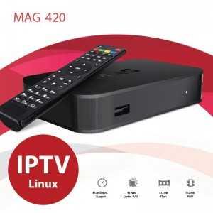 Mag 420 - IPTV - 4k