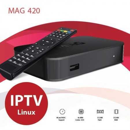 Mag420 - IPTV - 4k