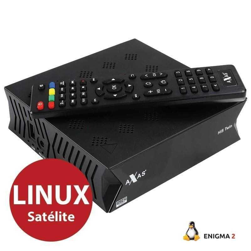Axas HIS - Twin E2 - DVB-S2 - Sat -H.265