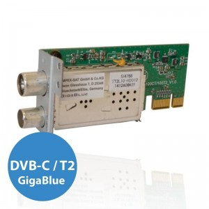 Tuner GigaBlue DVB-C/T2 S