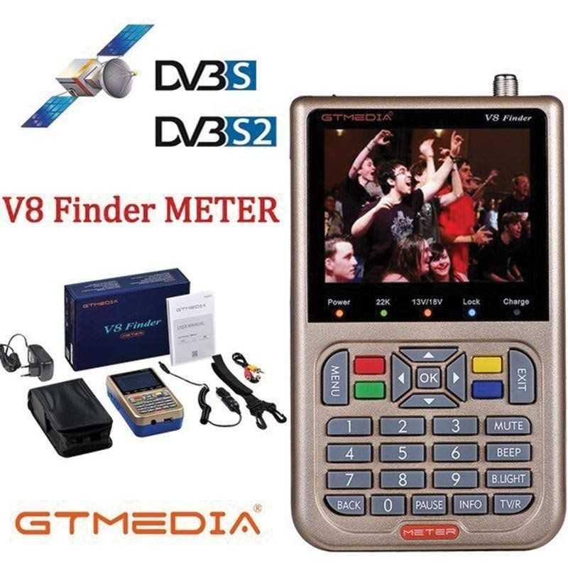 Gtmedia V8 Finder Medidor
