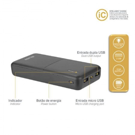 Power Bank S80 - 10000 mah