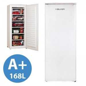 Arca Congeladora Silver - Vertical 168L- A+