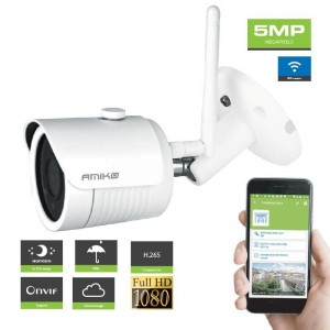 Amiko Camara IP B25M500 5Mp Wifi